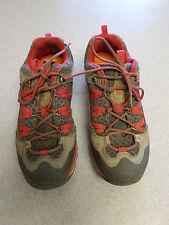 "Merrell ""Avian Light Sport Castle Rock"" gray and red hiking shoes Women's 9.5"