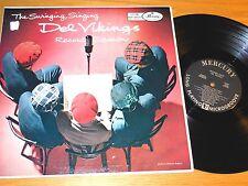 "R&R/DOO-WOP LP - THE DEL VIKINGS - MERCURY 20353 - ""RECORD SESSION"""
