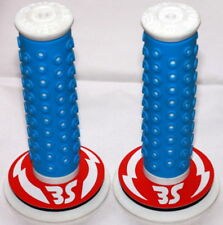 OAKLEY BLUE/WHITE MIKE BUFF PK RIPPER LIMITED RELEASE BMX GRIPS 2010
