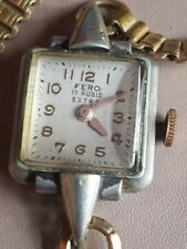 LADIES VINTAGE FERO 15 RUBIS EXTRA WATCH SEE IMAGES