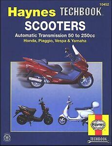 Honda, Piaggio, Vespa, Yamaha Scooters with Auto Transmission
