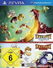 Rayman Legends + Origins (2in1) PSV PSVita Playstation Vita NEUF + EMBALLAGE