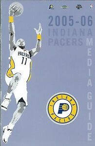 2005-06 Indiana Pacers NBA Basketball Media Guide