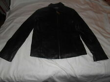 Womens ADLER Lambskin Leather Fitted Motorcycle  Jacket Sz XS EUC!!!