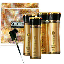 KERATIN CURE GOLD & HONEY BIO-BRAZILIAN COMPLEX TREATMENT 0%  6 PIECE KIT 160ML