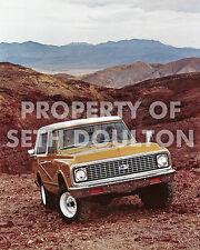 "1972 Chevrolet Blazer SUV Sedona Arizona photo vintage print ad16"" X 20"" poster"