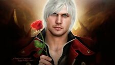 POSTER DEVIL MAY CRY 2 3 4 5 DANTE DMC PS3 XBOX 360 VERGIL DANTE'S AWAKENING #1