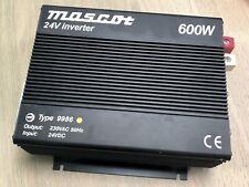 MASCOT TYPE 9986 24V 600W POWER INVERTER - 230VAC