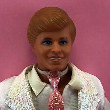 Barbie 1989 DANCE MAGIC KEN Molded Hair White Suit Shoes 1988 Head TNT Doll KK27