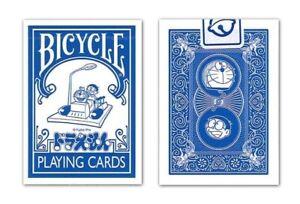 1 DECK Bicycle Doraemon Japan anime playing cards USA SELLER!