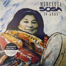 30 Años by Mercedes Sosa (180g Vinyl 2LP), 2016. Universal LP43044