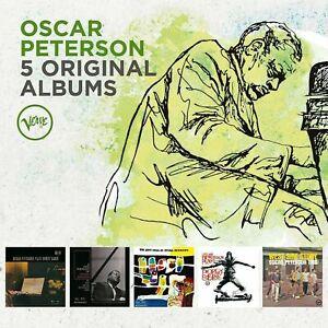 OSCAR PETERSON 5CD NEW Plays Count Basie/Sinatra/Jazz Soul/Porgy Bess/West Side