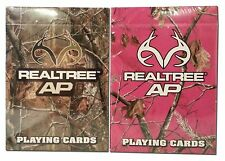 Lot 2 Realtree AP & Pink Camouflage Bicycle  Playing Cards Outdoor Hunting Deer