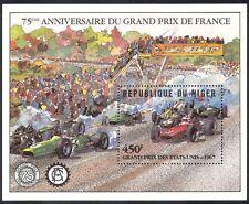 NIGER 1981 MOTOR RACING/Auto/GP/FORMULA One/F1/Trasporto/Sport 1v M/S (s5377)