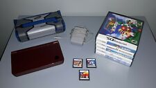 Nintendo DSi XL System with Games, Charger, NERF Case - No Stylus Pen
