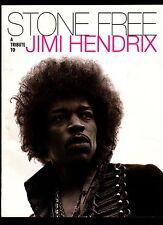 Original Vintage Jimi Hendrix Stone Free Tribute 1993 Color Promo Limited Folder