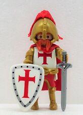 HERZOG DER KREUZRITTER TEMPELRITTER A PLAYMOBIL zu Crusader Templer Rot Gold RAR