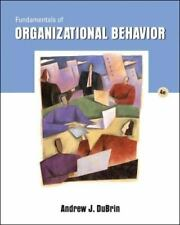 Fundamentals of Organizational Behavior by Andrew (2006, Paperback)instructor ed