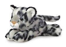 "Aurora Snow Leopard 8"" Mini Flopsie #31367 Stuffed Animal Toy"