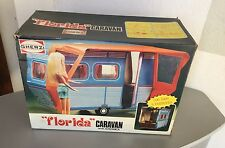 VINTAGE # GHERZI FLORIDA CARAVAN CAMPER MOD AMERICA# FOR BARBIE MATTEL #NIB