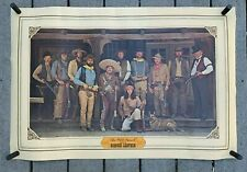 """VTG 1975 BIANCHI Leather """"The Wild Bunch""""  Promotional Advertising Poster 24x35"""""""