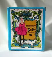 Vintage Mattel Barbie Case 1002 With Accessory Box 1968 Blue Green