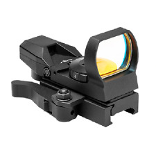 NcSTAR DX4BQ Rogue Red Dot 4 Reticle Reflex Sight Site Optic with QR Mount NEW