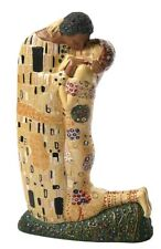 The Kiss Lovers Kissing by Gustav Klimt Statue Adaptation KL21 Parastone 7.5H