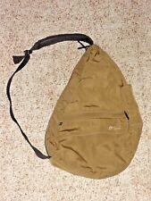 L.L. Bean Sling Backpack Healthy Back Ameribag Nylon Style #GA32 Brown USA