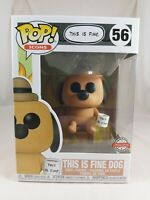 Icons Funko Pop - This is Fine Dog - No. 56