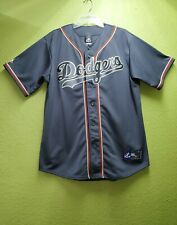Los Angeles Dodgers-Blank-Majestic Sewn Jersey. Adult-Large. Rare. (Navy Blue).