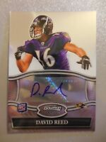 2010 Bowman Sterling Rookie RC Auto Autograph David Reed