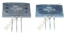 2 x 2SC2922 & 2SA1216 2 Paare 2 pair 4 Transistoren    17A 200W 180V PMC  MT-200