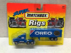 VINTAGE 1994 MATCHBOX SUPER RIGS OREO TRACTOR TRAILER  SEALED