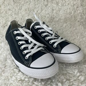 Converse Womens Size 10 Chuck Taylor All Star Black/White Skateboarding Shoes