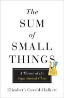 The Sum of Small Things: A Theory of the Aspirational Class by Currid-Halkett
