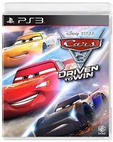 PS3 Spiel Cars 3: Driven To Win NEUWARE