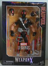 "Hasbro Marvel Legends 12"" Deadpool Agent of Weaponx Action figure"