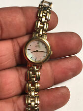 Nice Ladies Gold Tone Citizen EcoDrive B023 Analog Watch #2- For Parts Or Repair