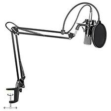 Professional Studio Condenser Microphone Audio Sound Recording Equipment Kit Mic