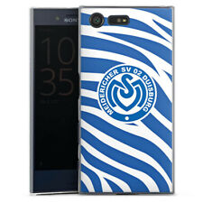 Sony Xperia X Compact Handyhülle Case Hülle - Blaues Zebra MSV