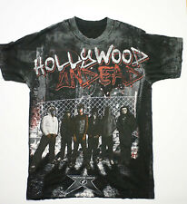 Vintage Hollywood Undead Rock Band T-Shirt Size S Walk of Fame Full Graphic Rare