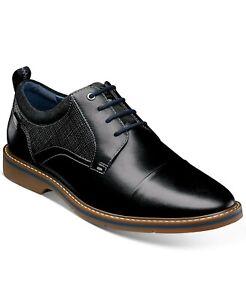 Nunn Bush Men's Pasadena II Cap Toe Oxford Black Multi Leather Size 11.5 M $90