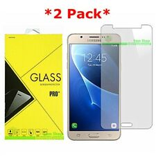 2X Premium Tempered Glass Screen Protector Guard For SAMSUNG Galaxy J7 (2016)