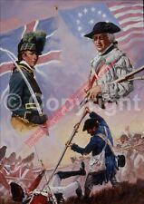 Art Limited Ed Morgan& Banastre Tarleton Rev War Battle of Cowpens Collectible
