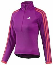 pretty nice 0cf0f ff05a adidas Pink Response Climacool Half Zip cycling jersey Z11597 L 38-40