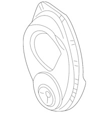Genuine GM Timing Cover 12561062