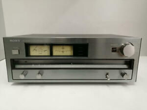SONY ST-A6B FM/AM TUNER used in good condition from japan