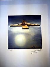 Salvador Dali Litografia 50 x 65 Bfk Rives Timbro a secco Firmata a Matita D056