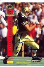 christian fauria rookie rc draft auto autograph colorado buffaloes cu college #d